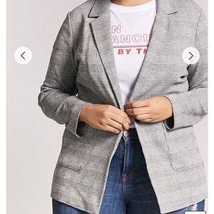 Jackets & Blazers - Plus size plaid glen blazer😍